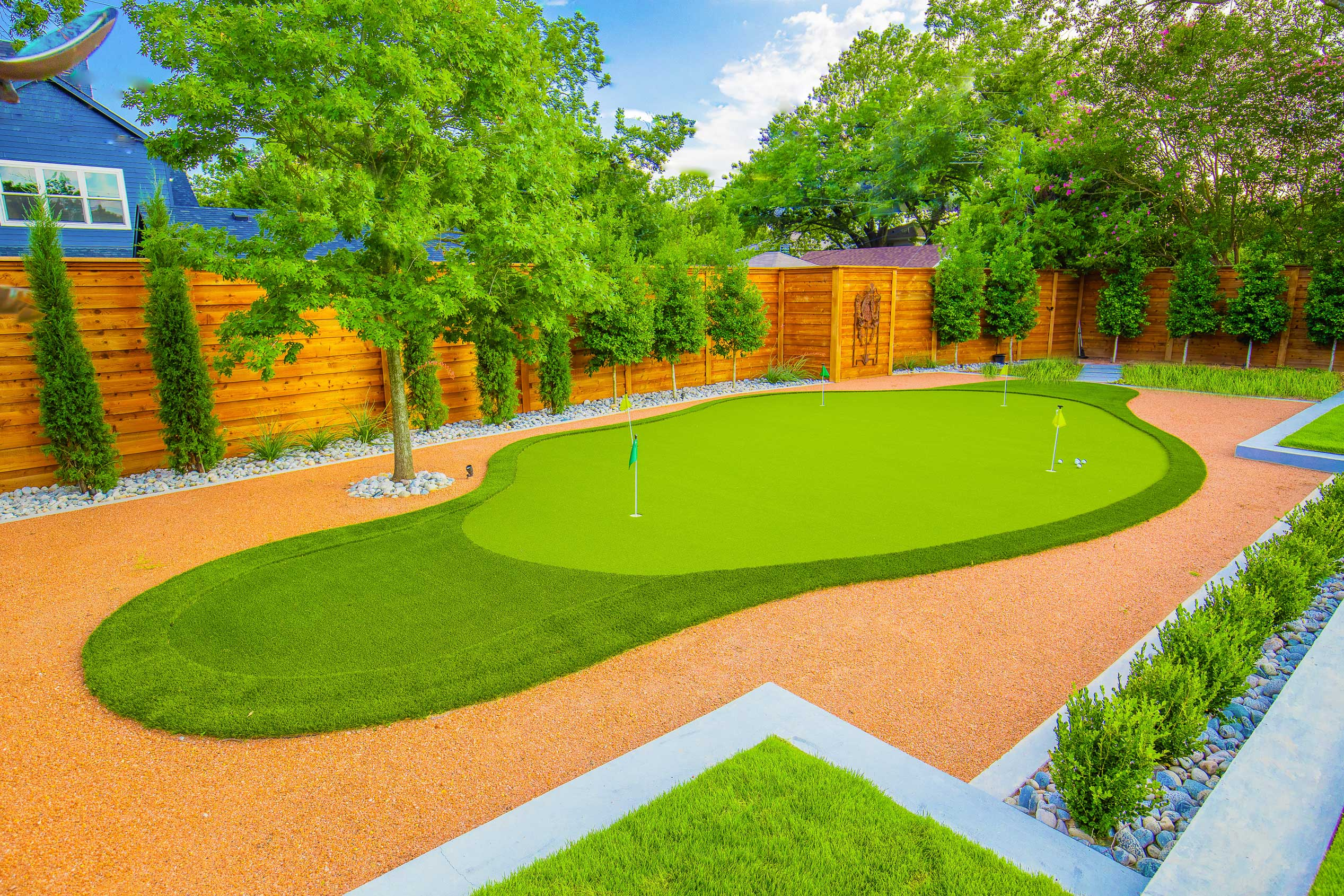 dallas-texas-putting-green-installation