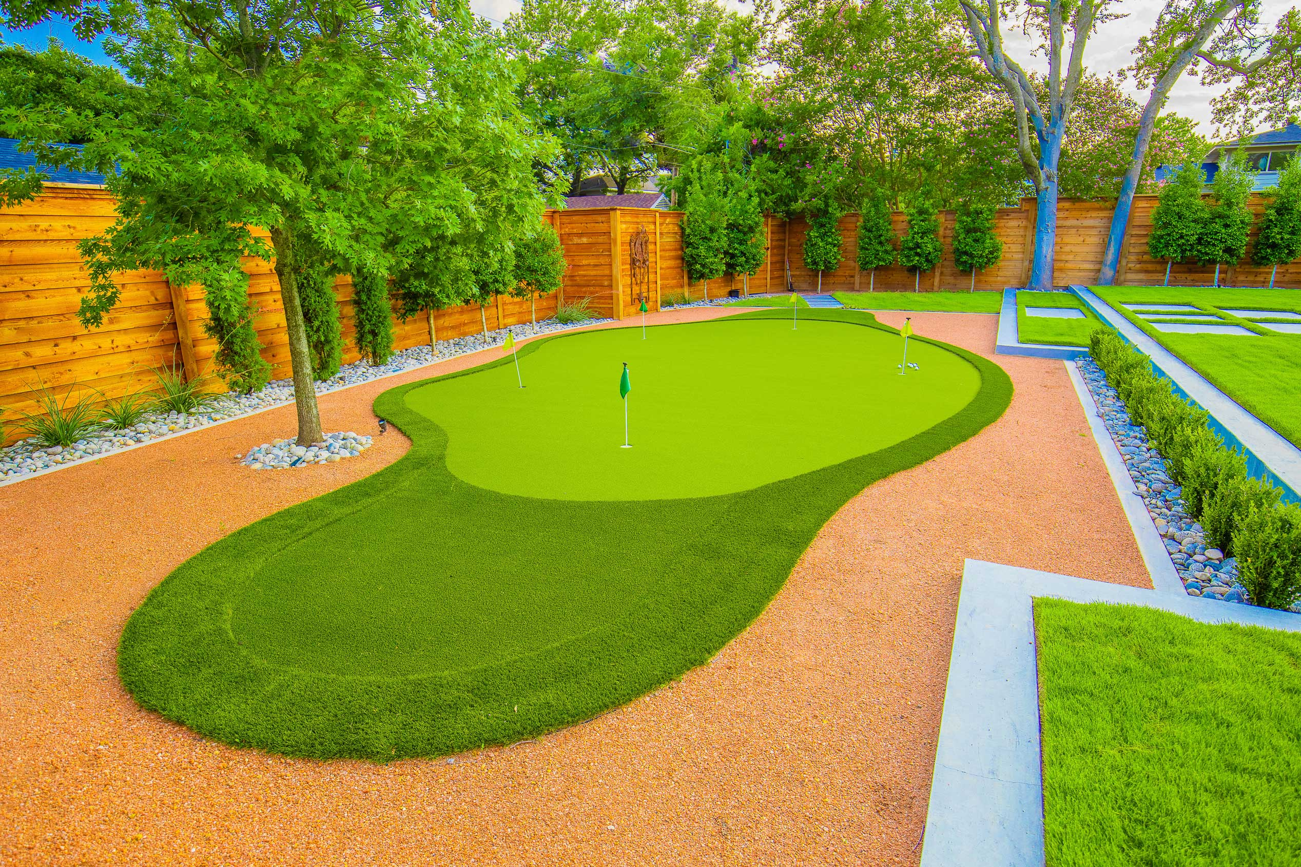richardson-texas-putting-green-installation