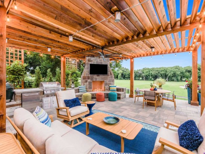 Beautiful, Trendy Landscape Richardson, Texas